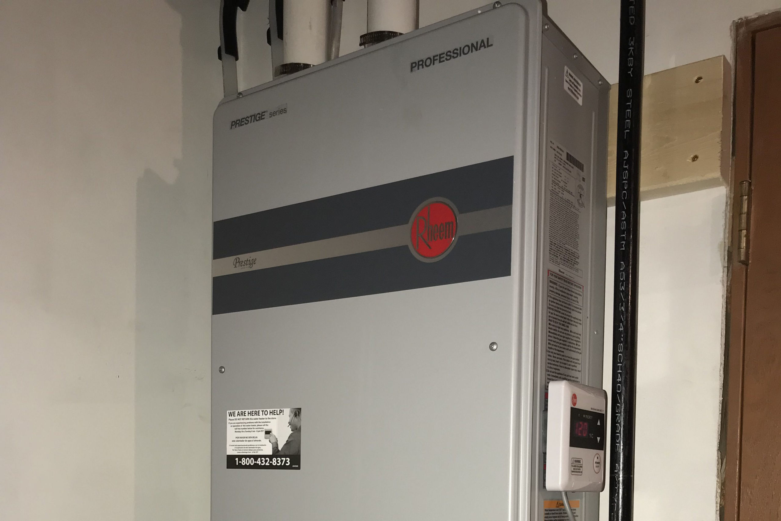 Edwards Plumbing and Heating Iowa Rheem Water Heating